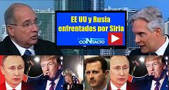 EEUU Rusia enfrentados por Siria 238x127