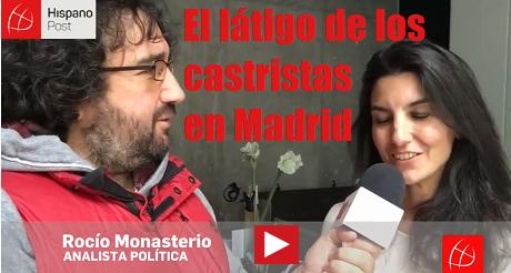 El latigo de los Castristas en Madrid