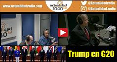 Trump en G20: ¿Reformando, validando o rechazando el orden mundial? 238x127
