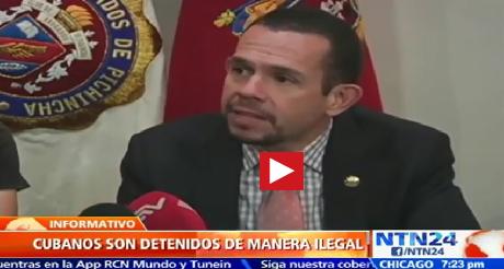 Gobierno Ecuatoriano Violo Derechos De Cubanos