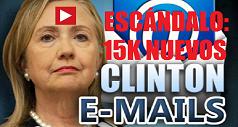 Hillary escandalo 15K nuevos emails 238x127