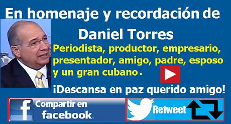 En homenaje y recordación de Daniel Torres