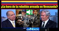 La hora de la rebelión armada en Venezuela