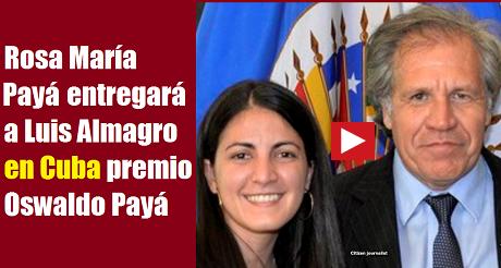Luis Almagro Rosa Maria Paya FB