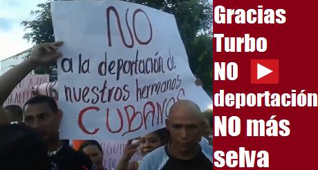 No deportacion de nuestros hermanos cubanos FB