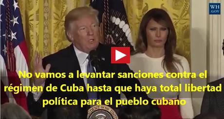 No Vamos A Levantar Sanciones Al Regimen De Cuba FB