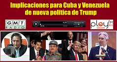 Nueva política de Trump Cuba y Venezuela