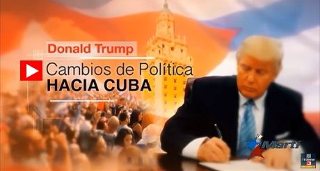 Nueva politica de Trump hacia Cuba