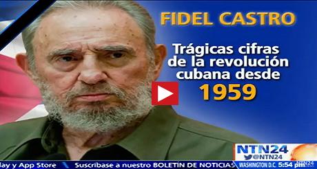 Tragicas cifras de Fidel Castro FB