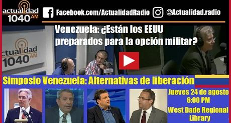 Venezuela esta EEUU preparado opcion militar FB