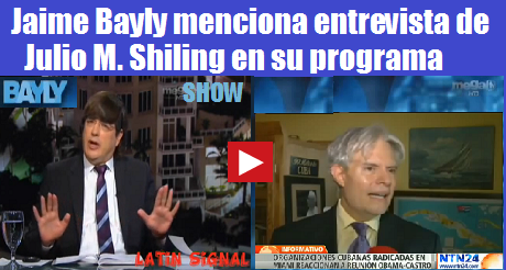 bayly menciona entrevista Julio M Shiling en su programa