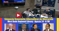 Conversando sobre el Simposio Venezuela: Alternativas de Liberación 238x127