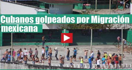 cubanos migrantes mexico exigen libertad FB