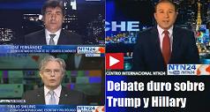 debate sobre Trump Hillary 238x127