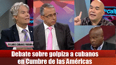 debate sobre golpiza a cubanos cumbre de las americas 230x129
