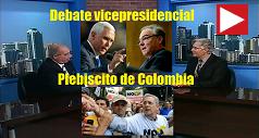 Debate Vicepresidencial Plebiscito Colombia 238x127