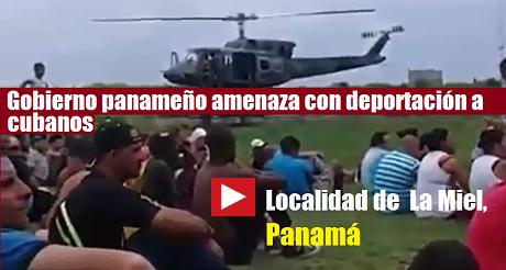 deportacion de cubanos Panama FB