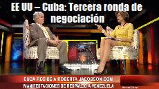 eeuu Cuba Tercera ronda negociacion
