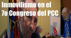 inmovilismo 7mo congreso del PCC 238x127