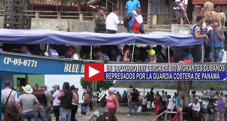 migrantes cubanos represados en Panama FB