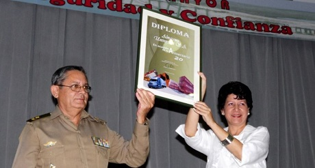 ministro FAR Almacenes Universales Cuba