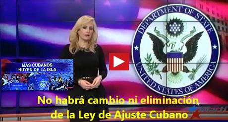 No Habra Cambio Ley De Ajuste Cubano FB