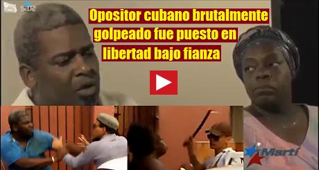 Opositor cubano en libertad bajo fianza FB