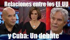 relaciones entre los EEUU y Cuba Un debate