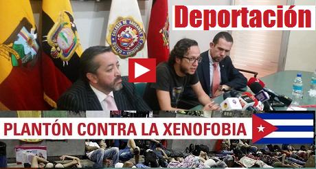 rueda de prensa deportacion de cubanos