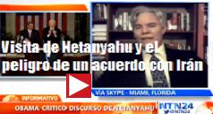 visita de Netanyahu peligro de acuerdo con Iran