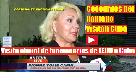 Visita oficial de funcionarios de EEUU a Cuba